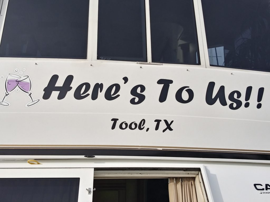 Here's To Us!! Tool, TX