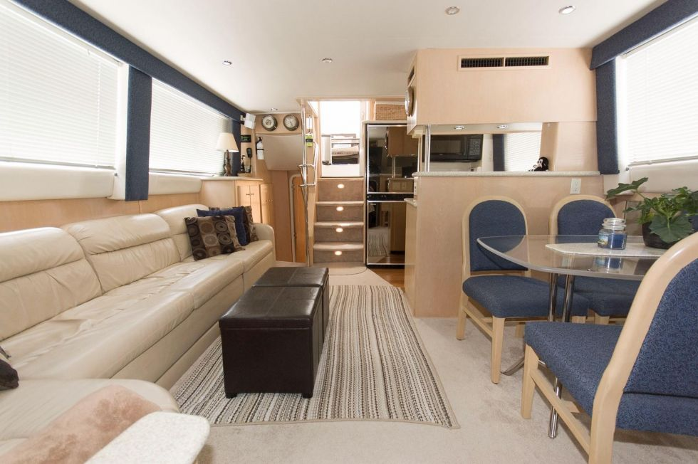 Living Aboard a Floating Apartment