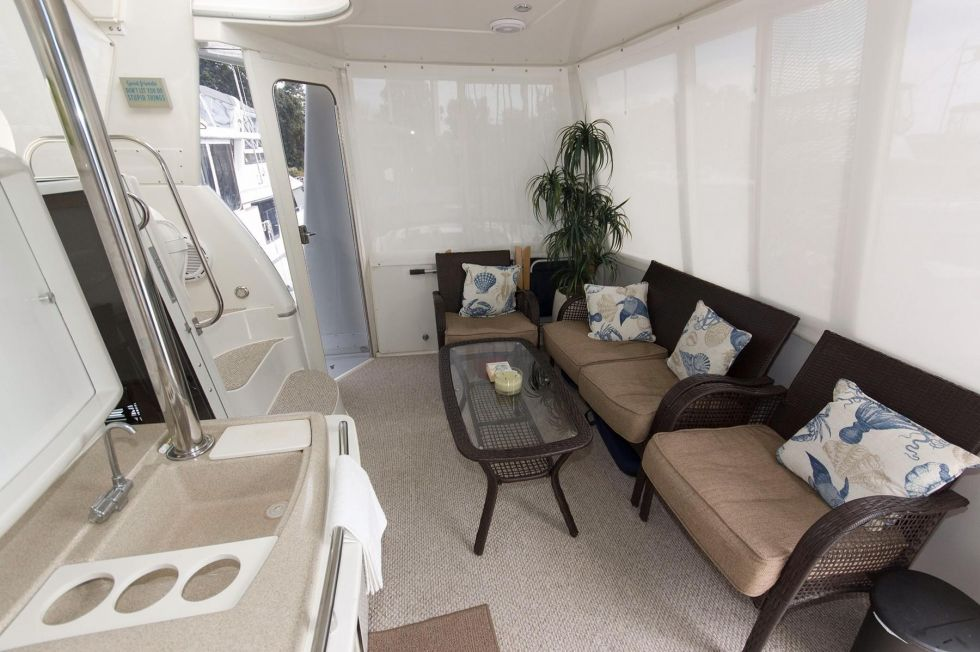 Patio Furniture in the Aft Bridge