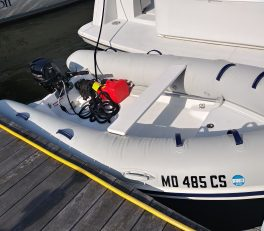 Dinghy in Place