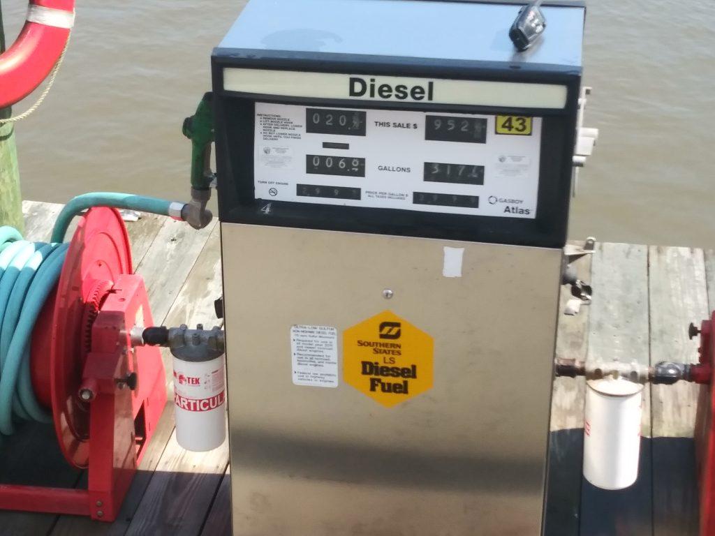 Spent a lot on diesel