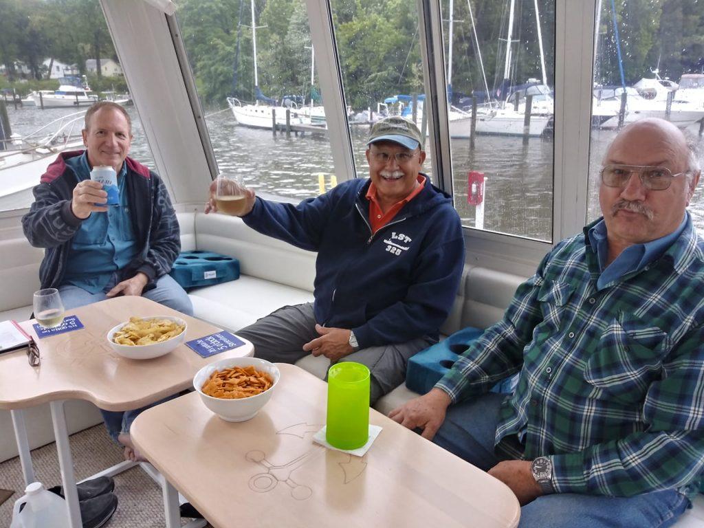 Sam, Rus, and Greg