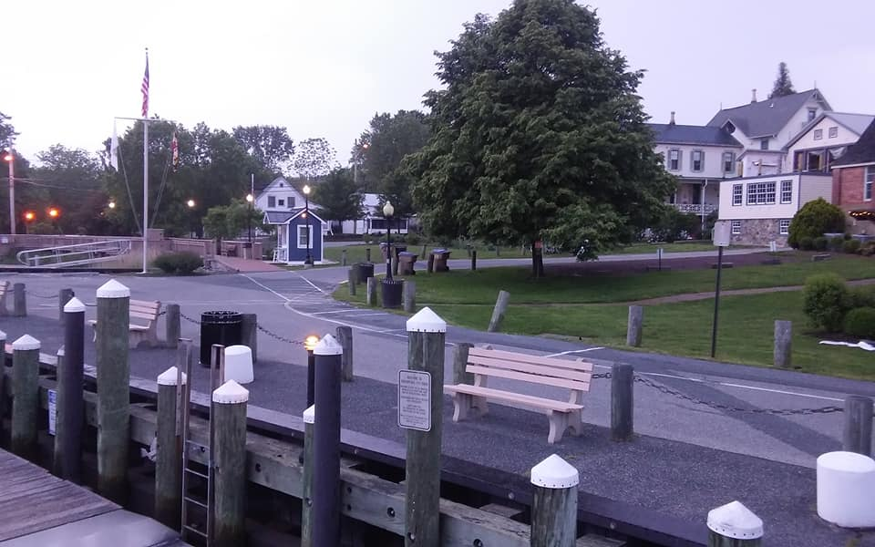 Chesapeake City at Dawn
