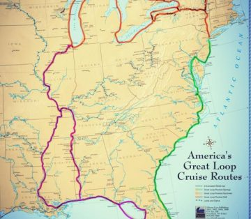 Travel Routes for America's Great Loop