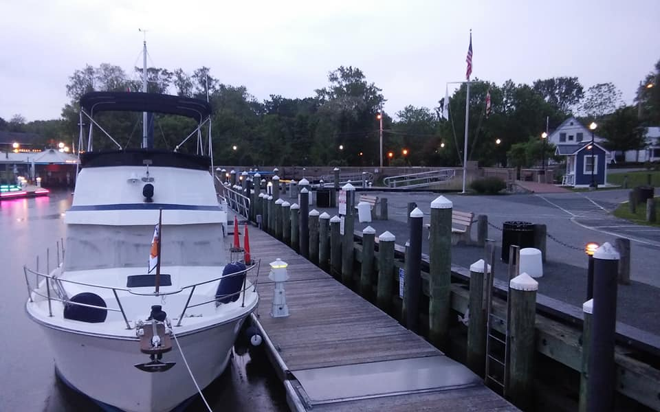 our neighbors at Chesapeake city dock