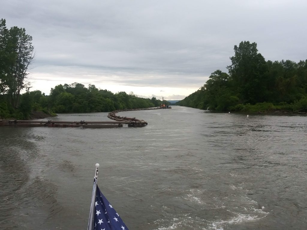 In the Erie Canal