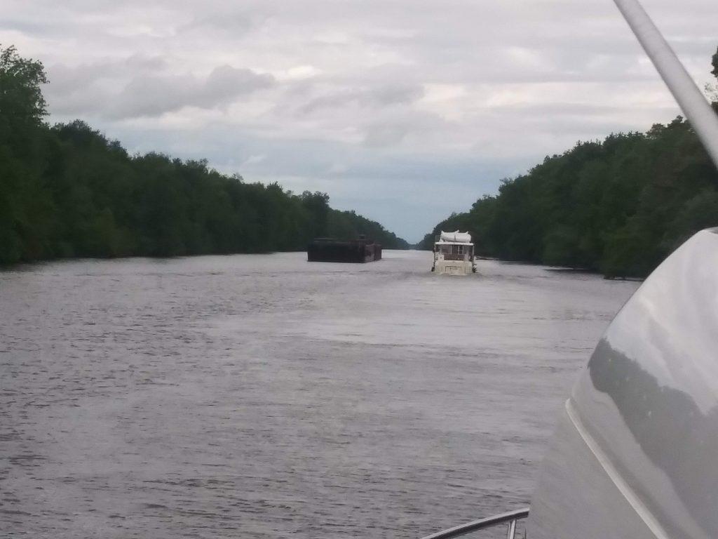 Dodging Barges