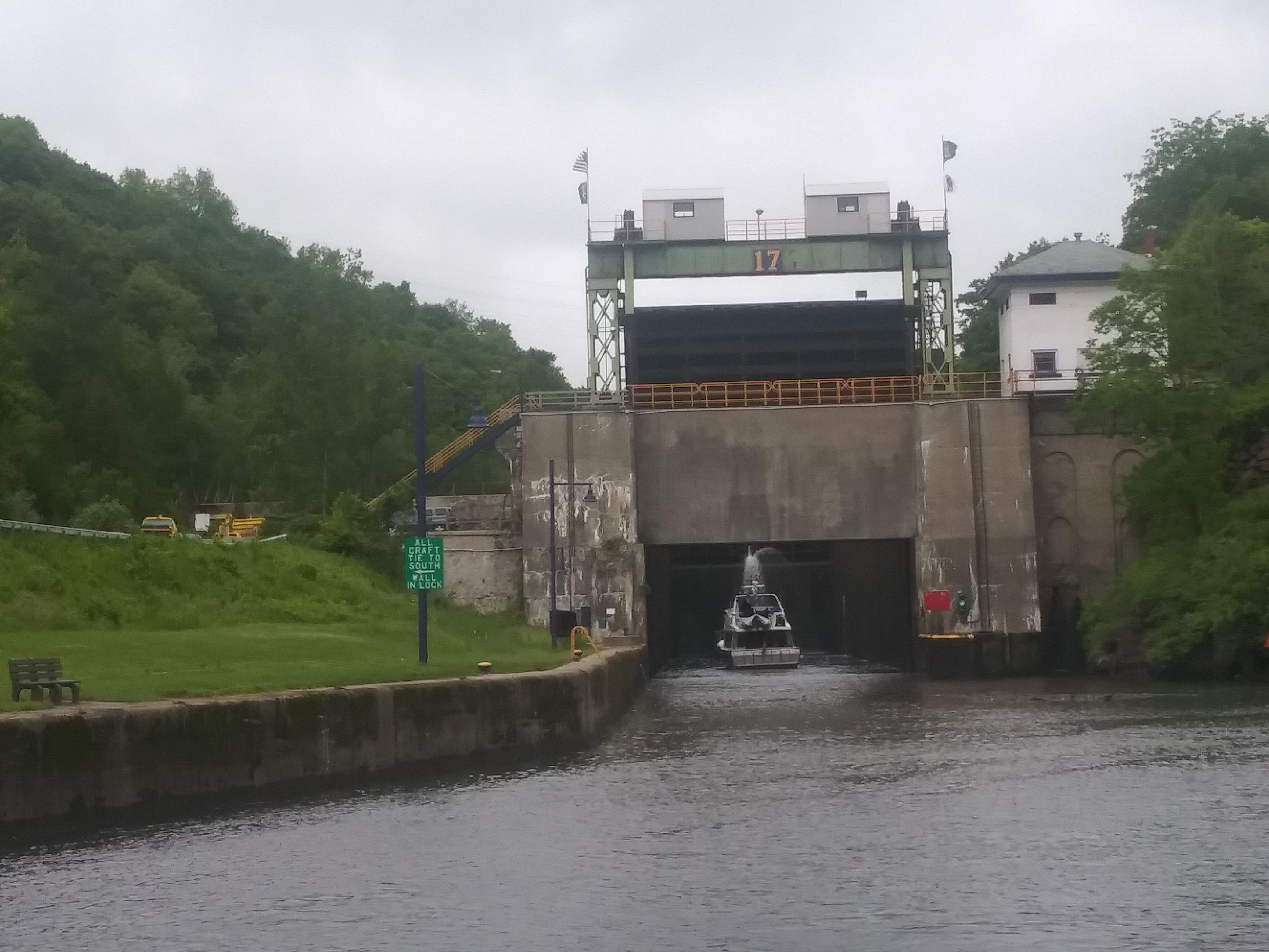 Lock 17 on the Erie Canal