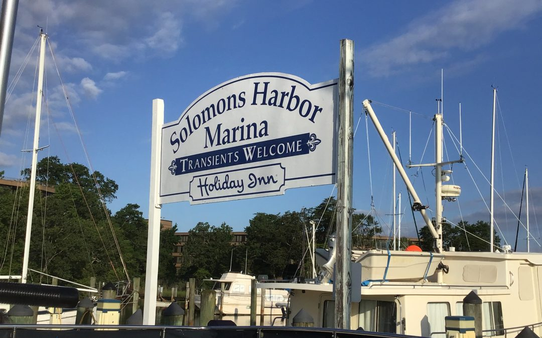 #122 Solomons Island, Maryland to Annapolis, Maryland