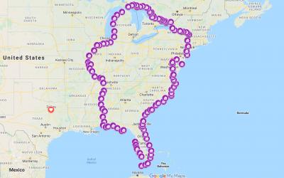 Our Great Loop Route (Gold Loop)