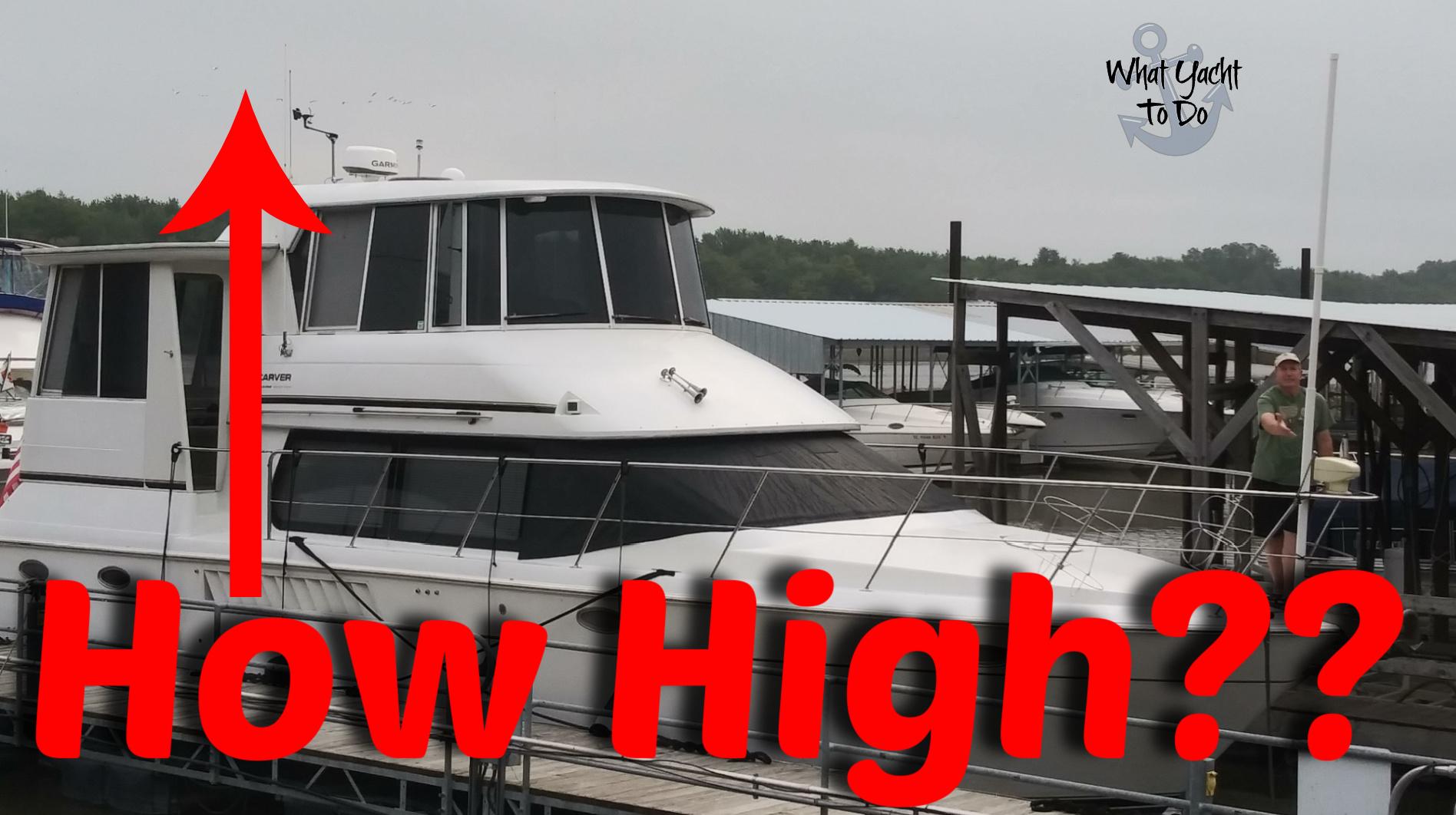 great loop boat height
